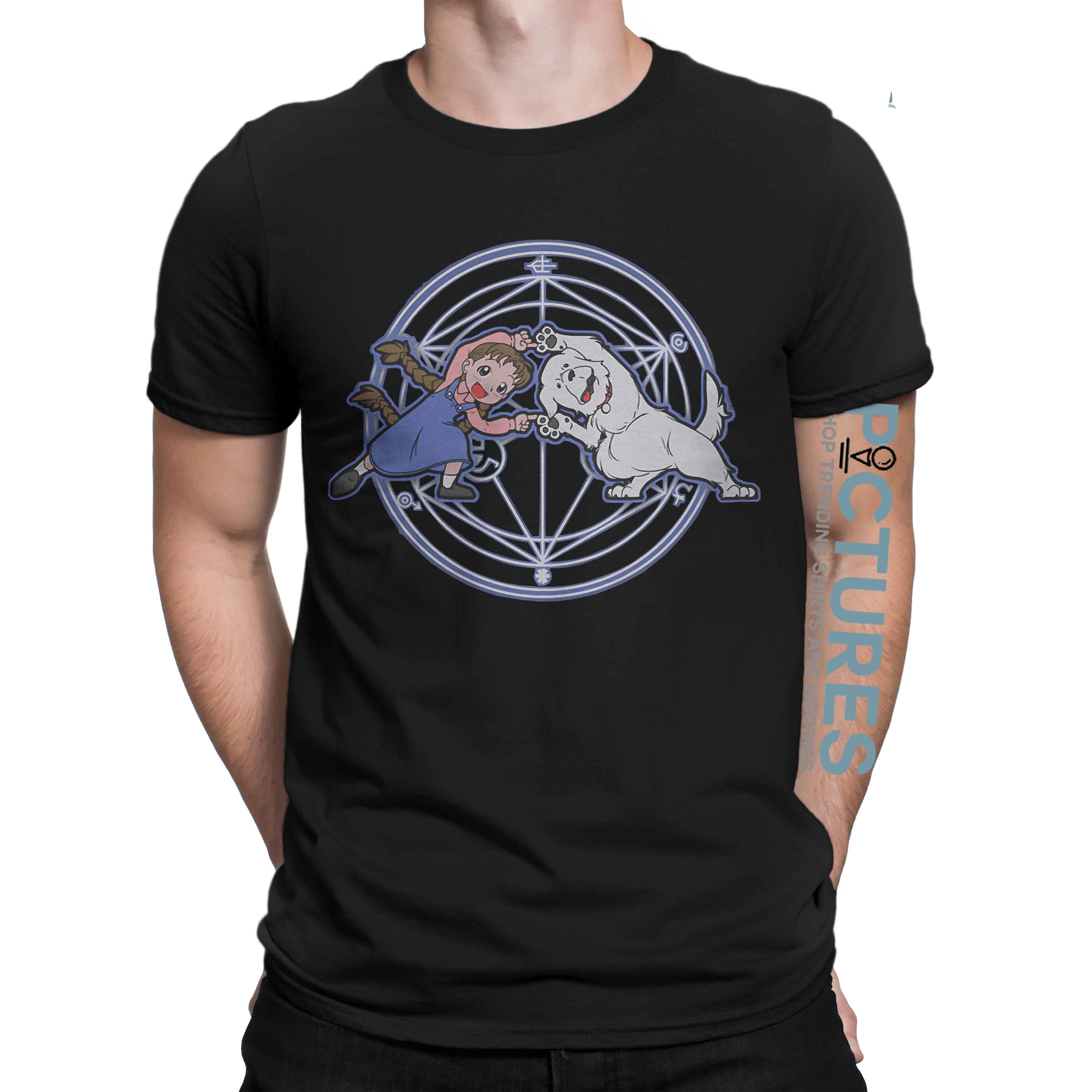 Nina Fullmetal Alchemist Happy Fusion Dance Fun times shirt 1 Picturestees Clothing - T Shirt Printing on Demand