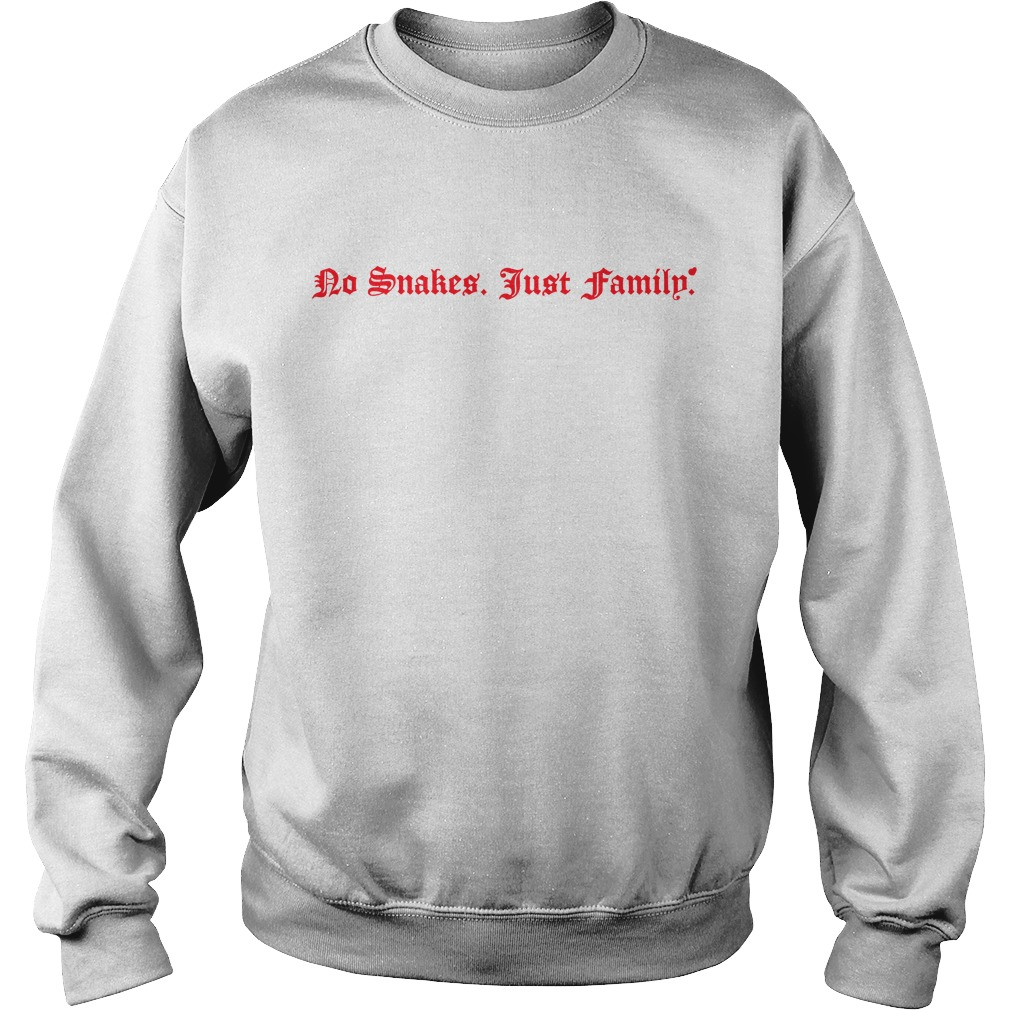 No snakes just family Sweater