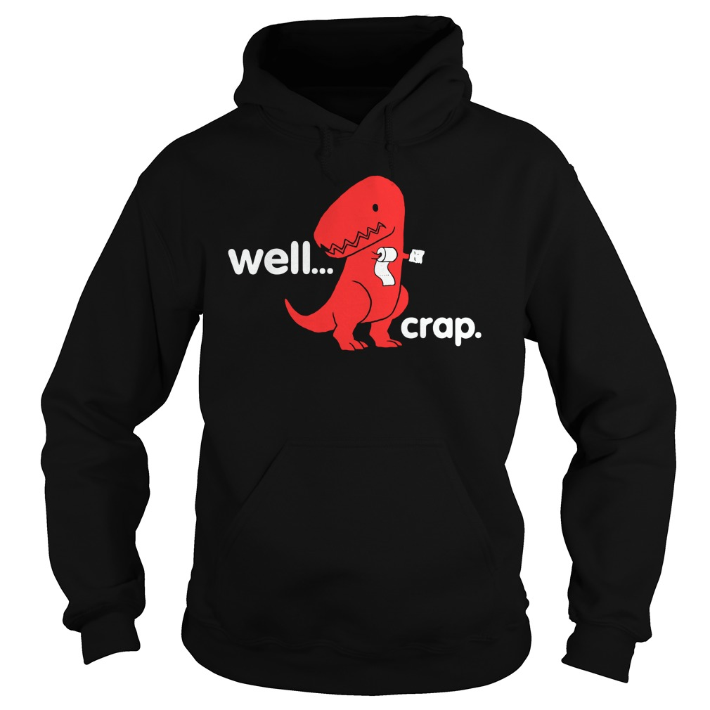 Official Crap Dino Hoodie