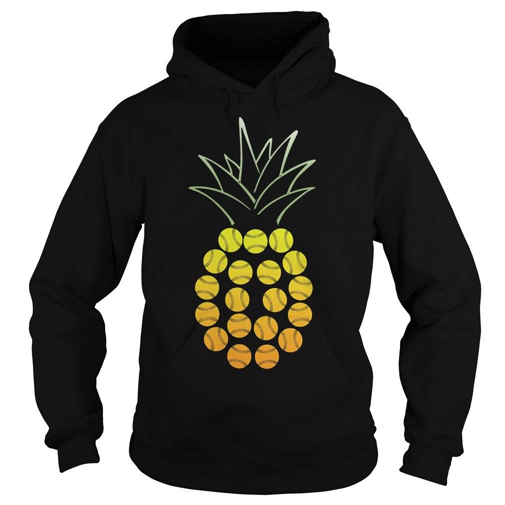 Official Softball Pineapple Hoodie