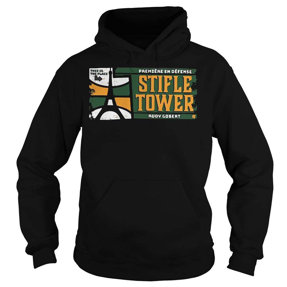 Official Stifle Tower Utah Rudy Gobert Hoodie
