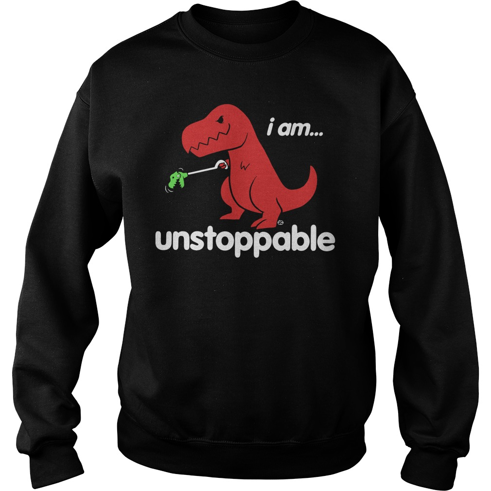 Official Unstoppable Dinosaur Sweater