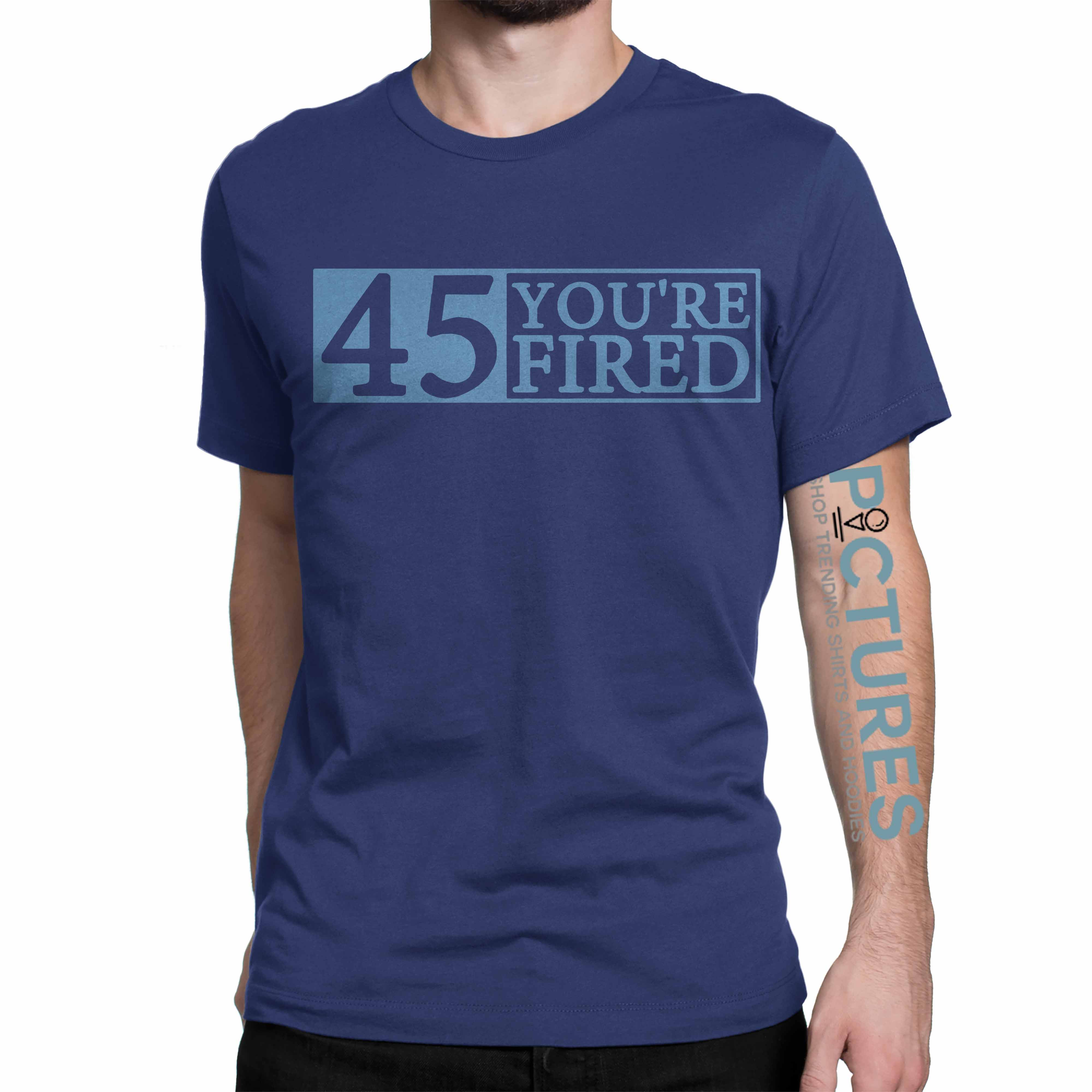 Official You're fired Impeach 45 shirt