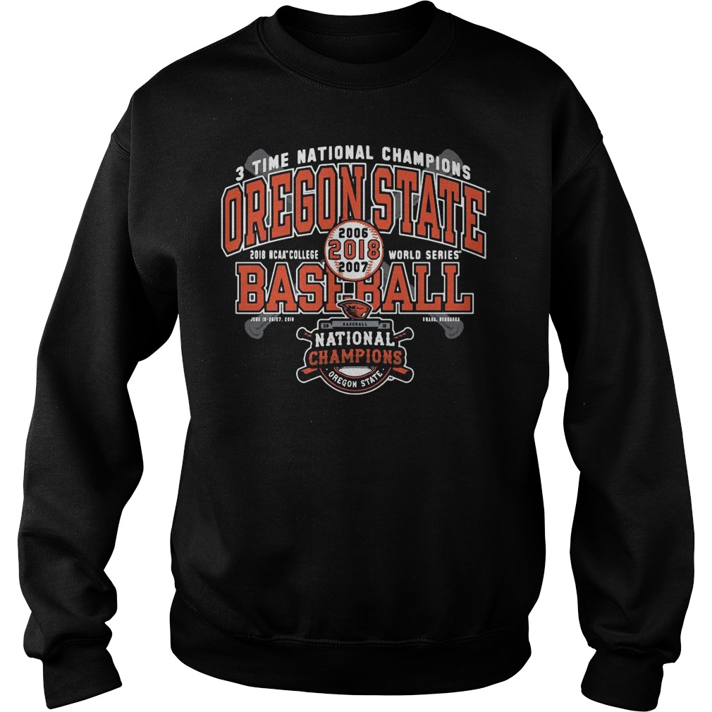 Oregon State Beavers National Champions Grand Slam Sweater