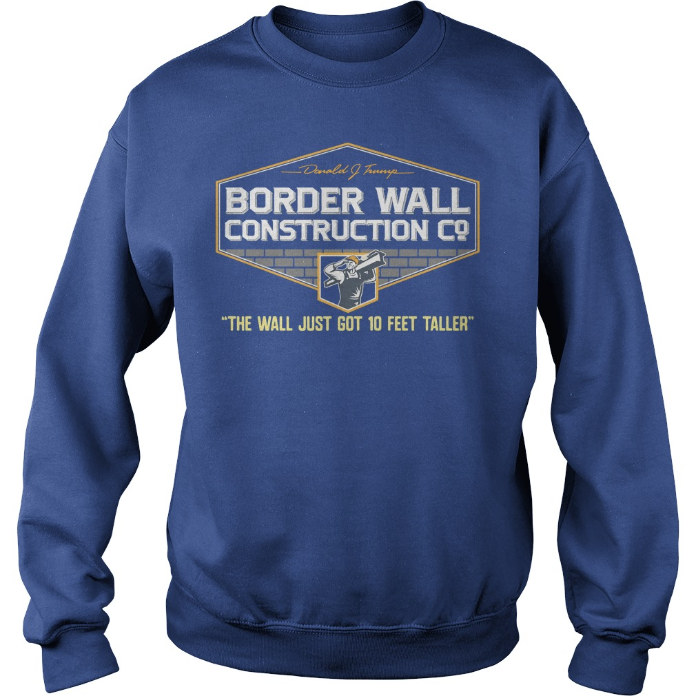 Oregon student Donald Trump Border Wall Construction Co Sweater
