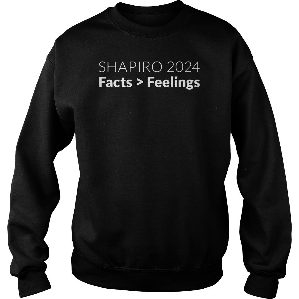 Shapiro 2024 Facts Feelings Sweater