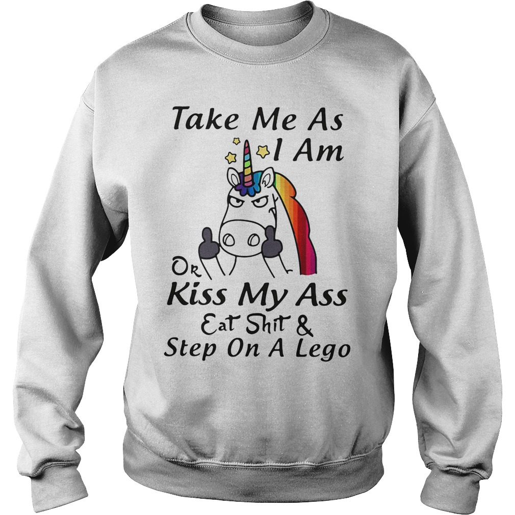 Unicorn Fuck Off Take Me As I Am Sweater