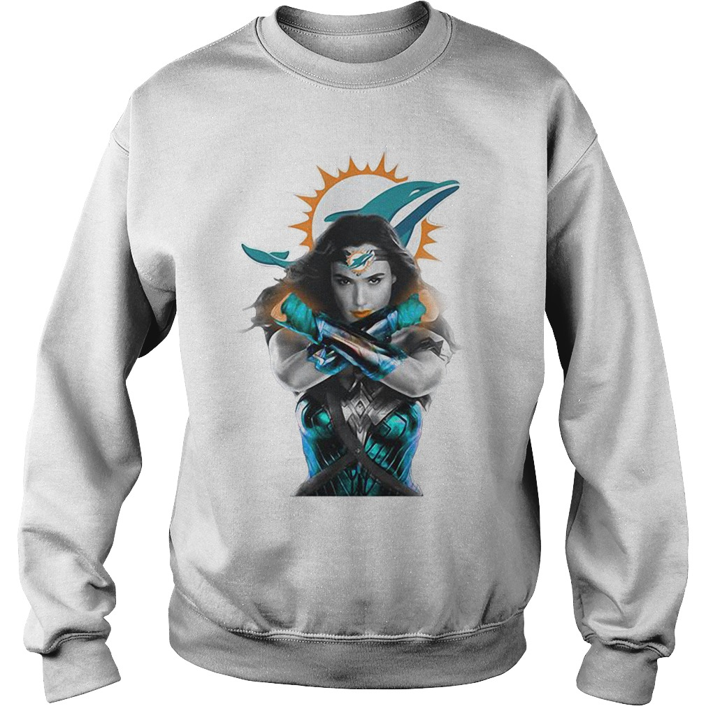 Wonder Woman: Miami Dolphins Sweater