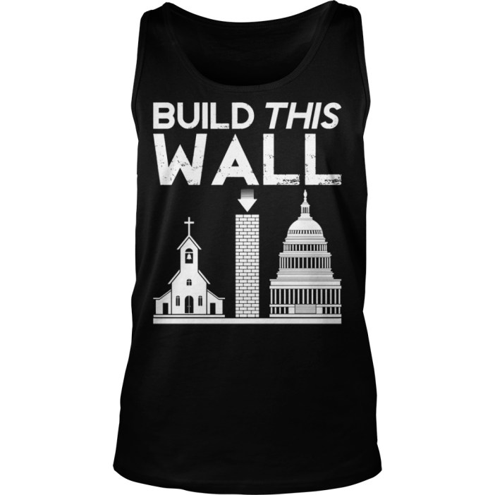 Build This Wall Tank top