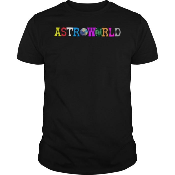 Travis Scott AstroWorld Guys tee