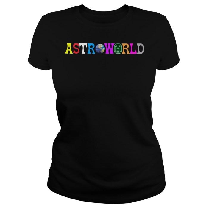Travis Scott AstroWorld Ladies tee