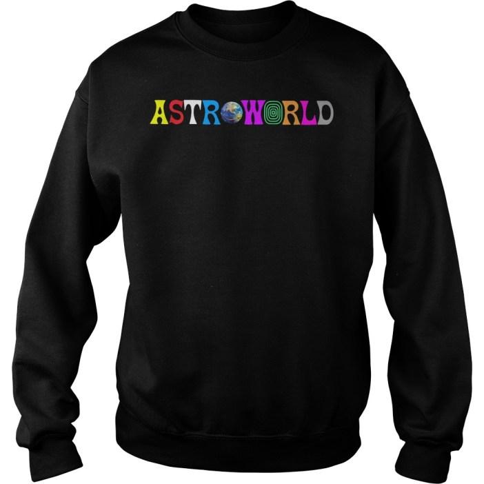 Travis Scott AstroWorld Sweater