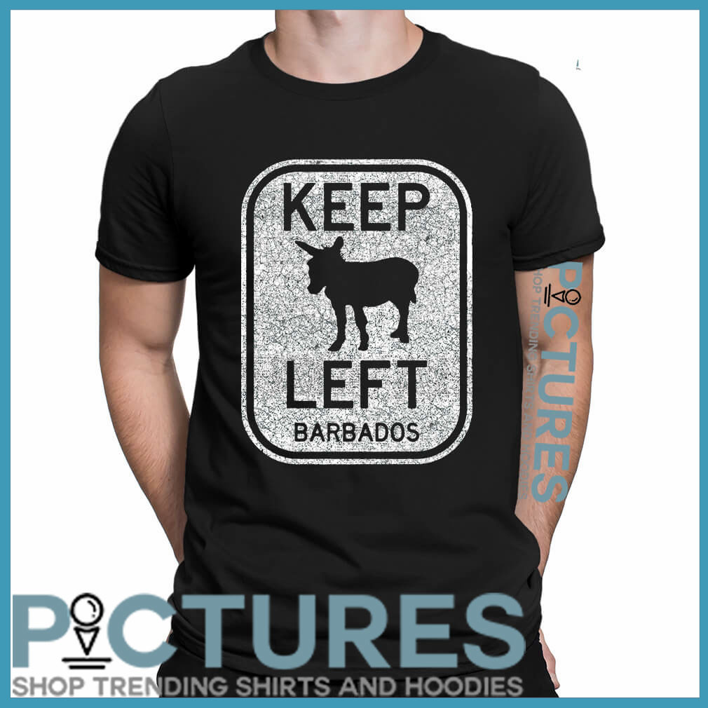 Donkey keep left Barbados shirt 1 Picturestees Clothing - T Shirt Printing on Demand