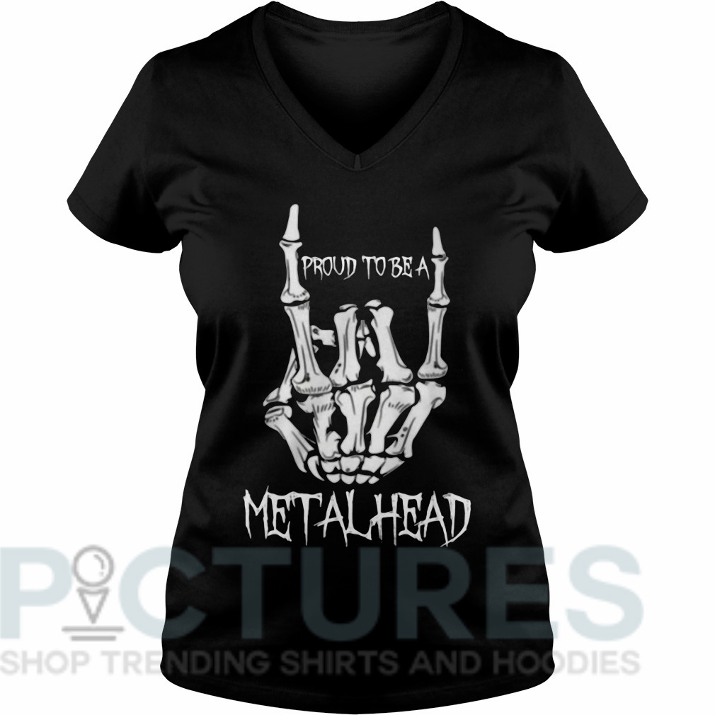 Proud to be a metalhead V-neck