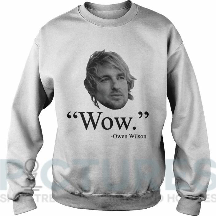 Wow Owen Wilson Sweater