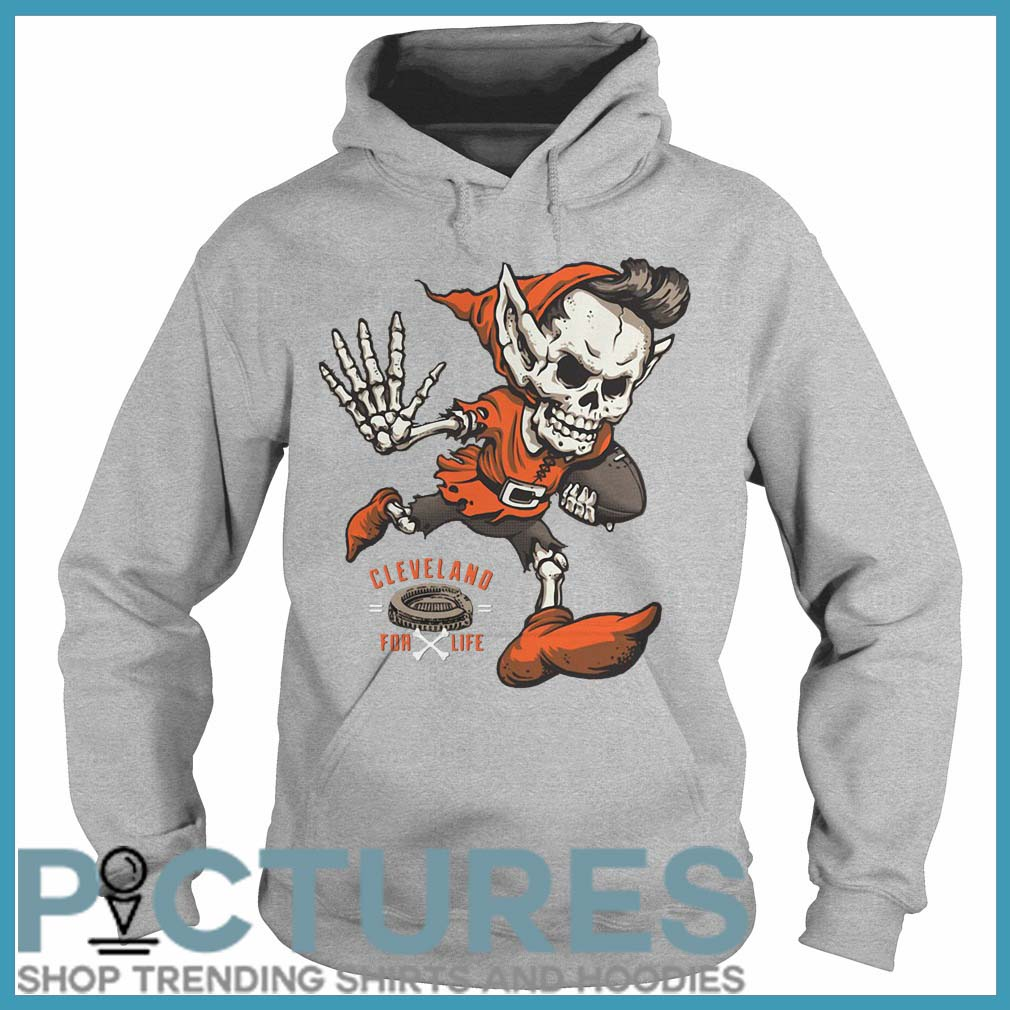 Cleveland football for life Hoodie