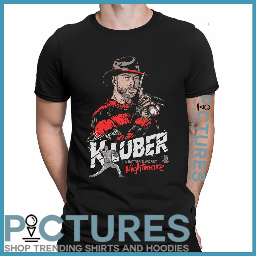 Corey Kluber nightmare shirt