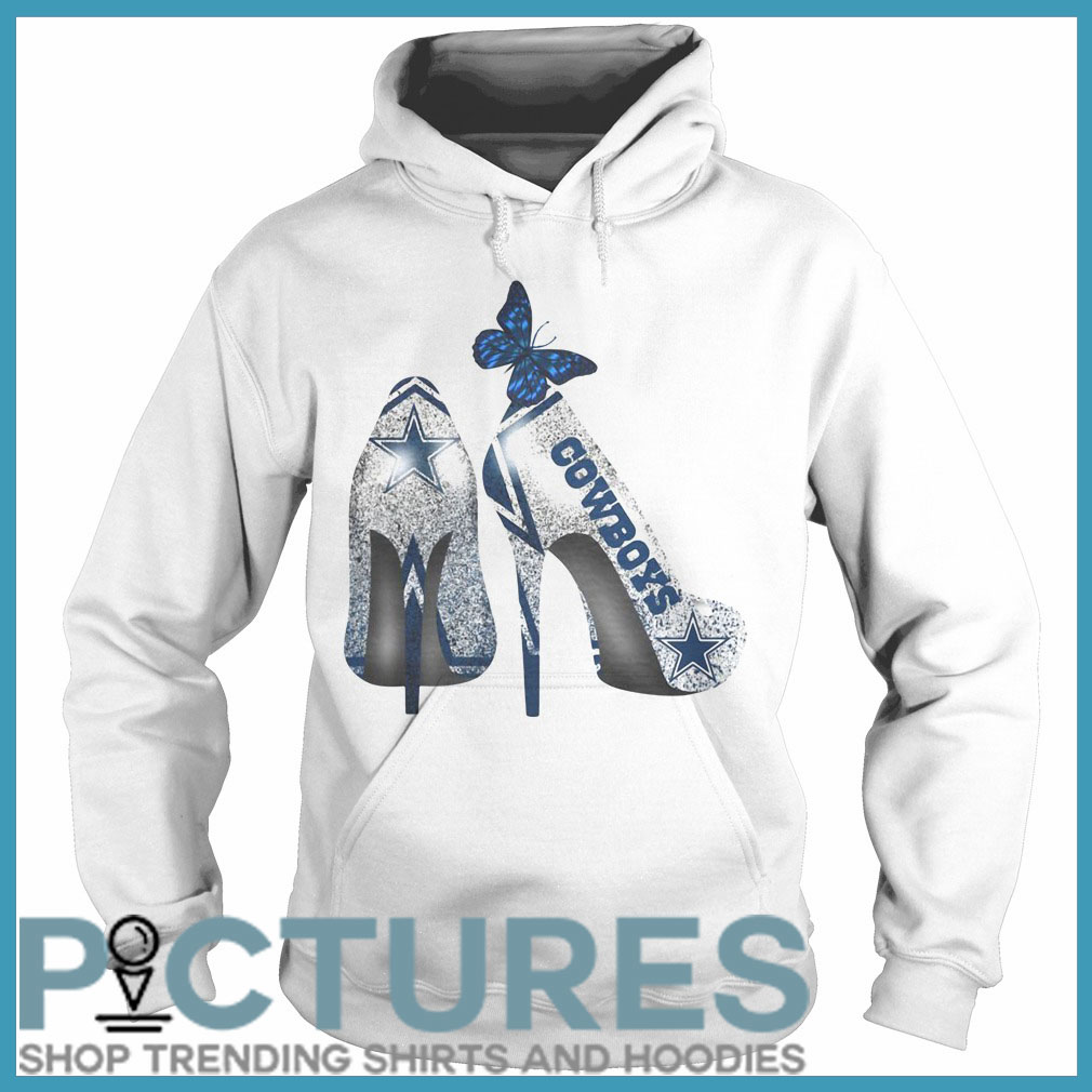 Dallas Cowboys high heels Hoodie