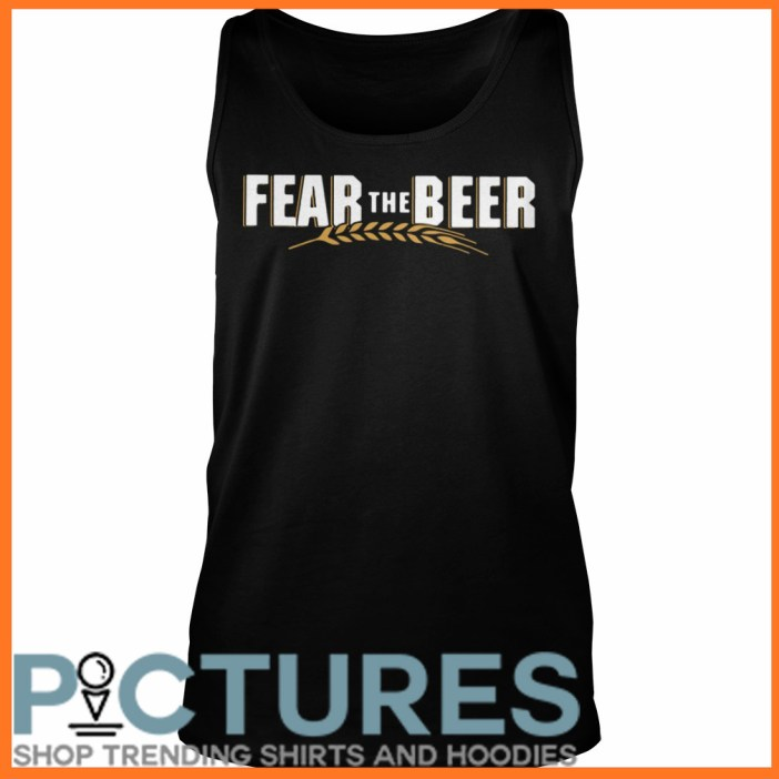 Fear the beer Tank top