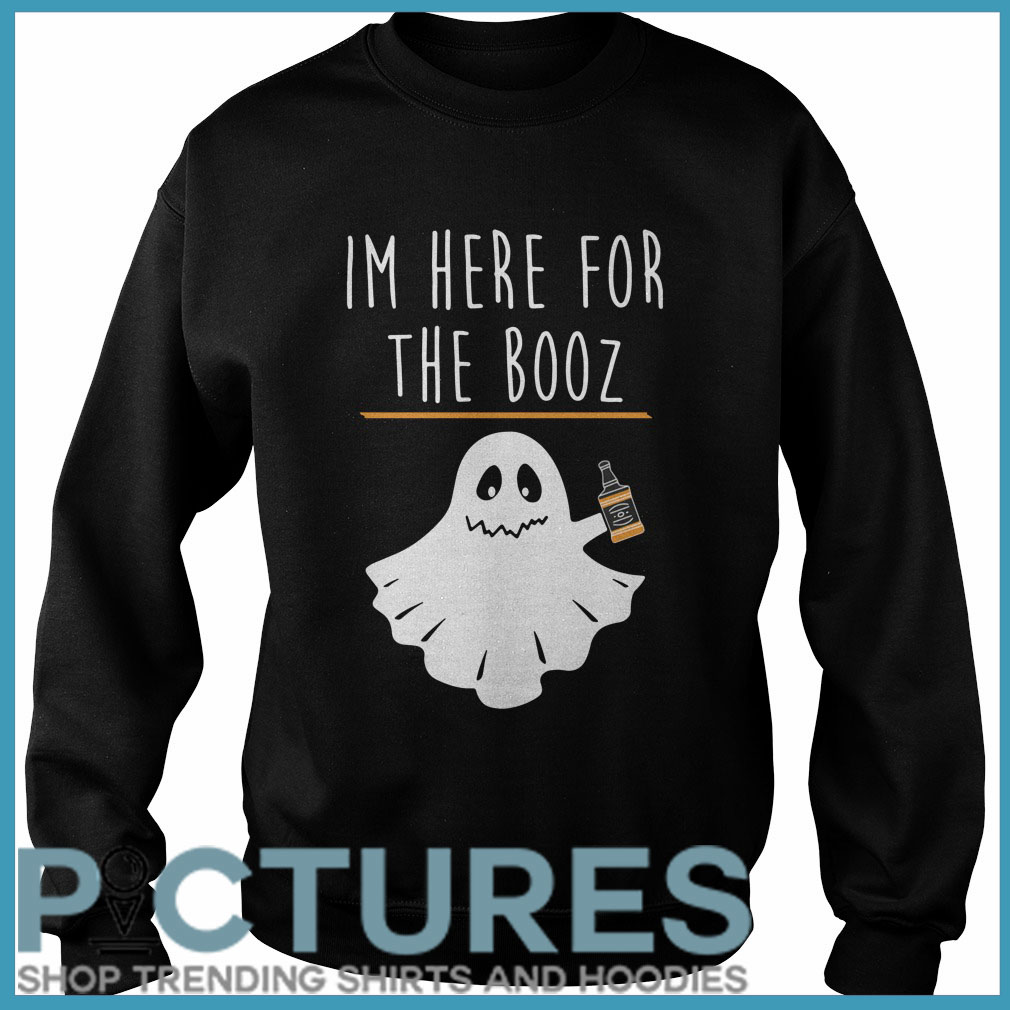 Halloween I'm here for the Booze Sweater