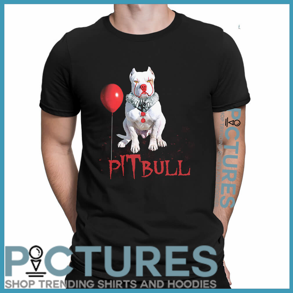 Halloween Pitbull Pennywise shirt