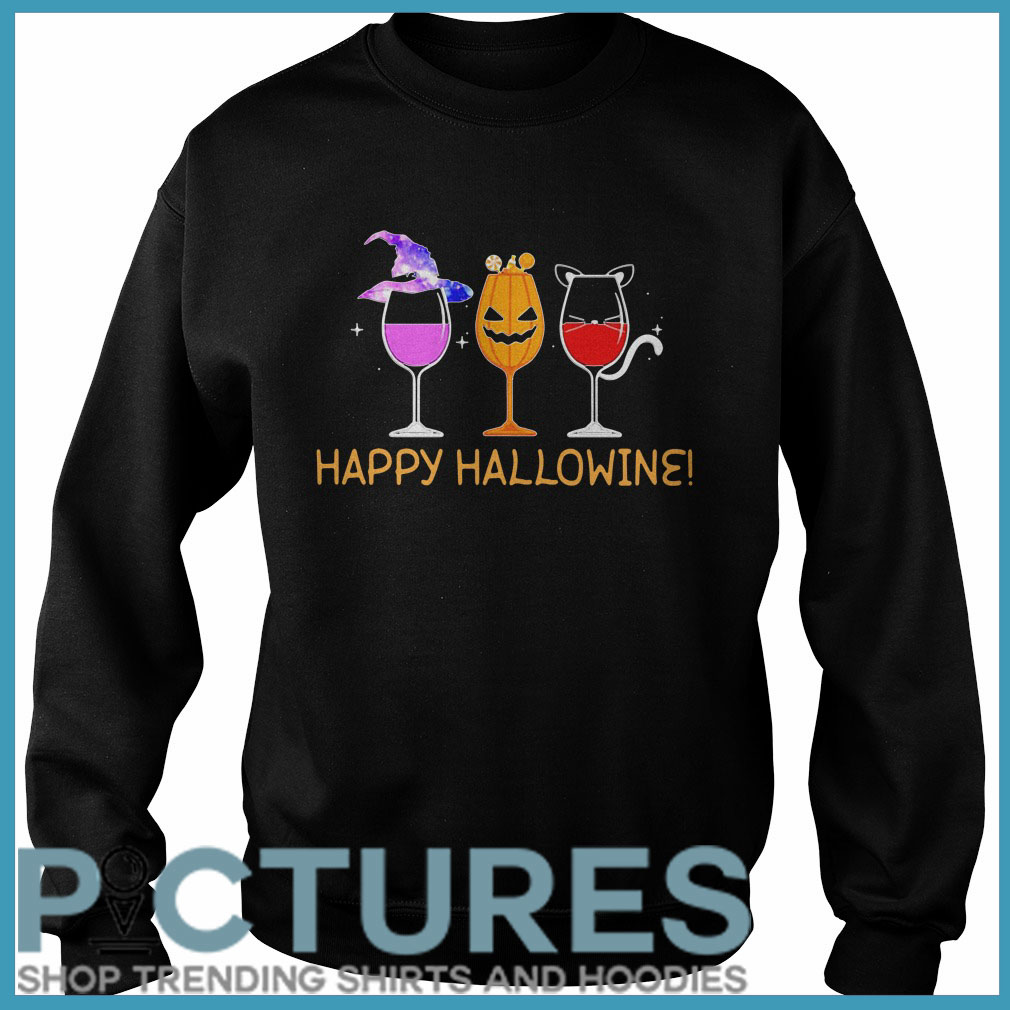 Happy Hallowine Sweater