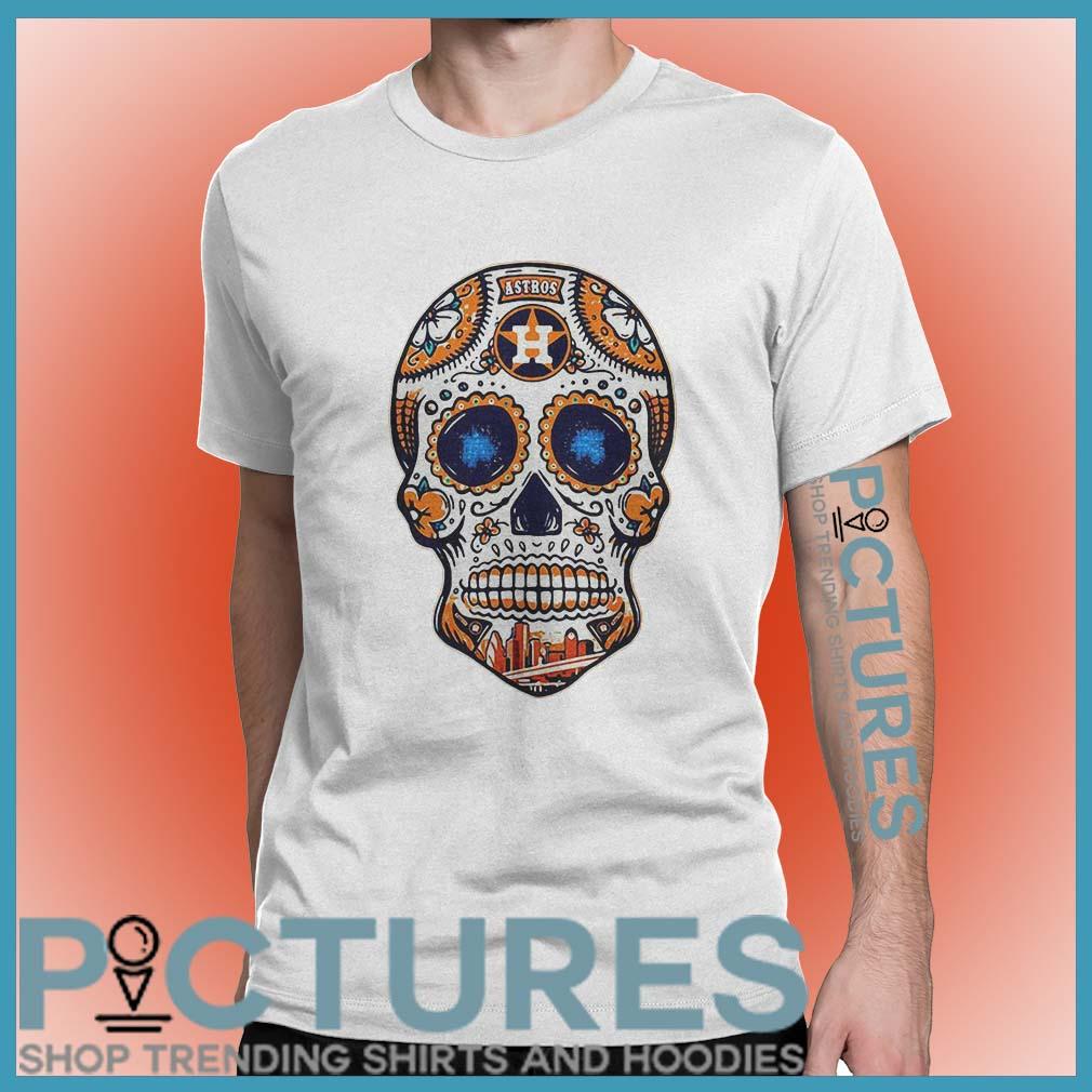 Houston Astros Skull shirt