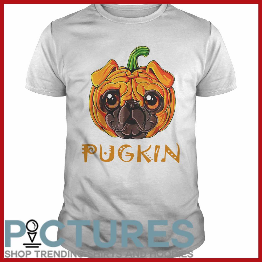Pugkin Pug Pumpkin Guys tee