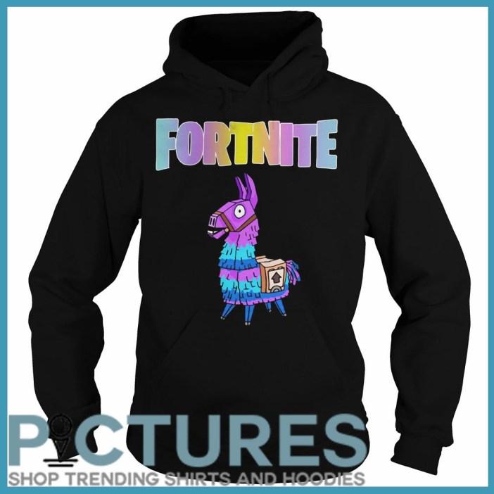 Fortnite Unicorn Llama Hoodie