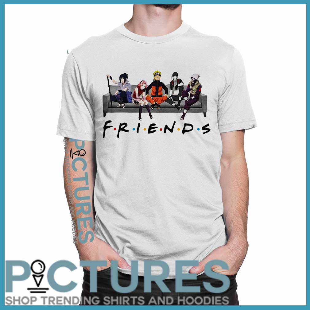 Naruto Anime Friends Shirt