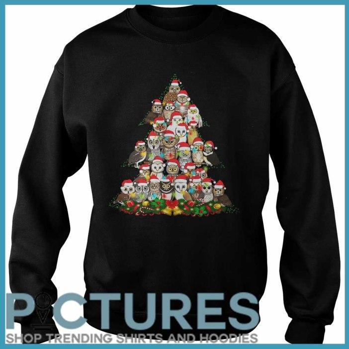 Owl Christmas tree Sweater