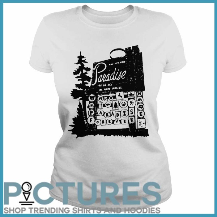 Walston Family Relief Picture of From the Ashes ladies tee