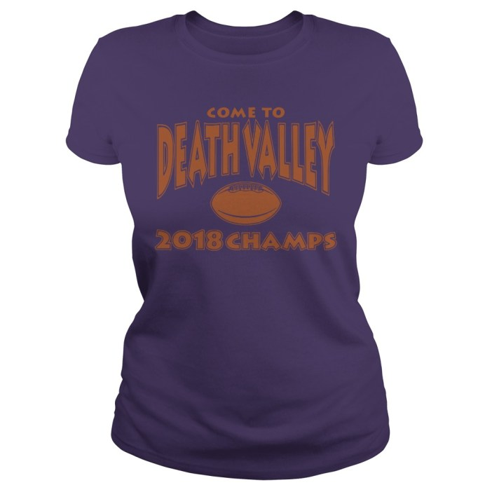 Come to death valley 2018 champs ladies tee