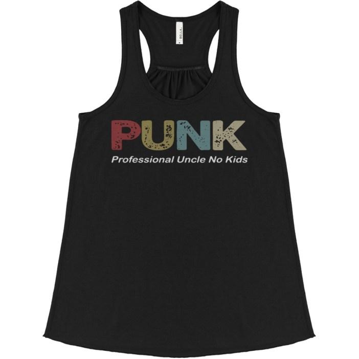 Punk Professional Uncle No Kids flowy tank