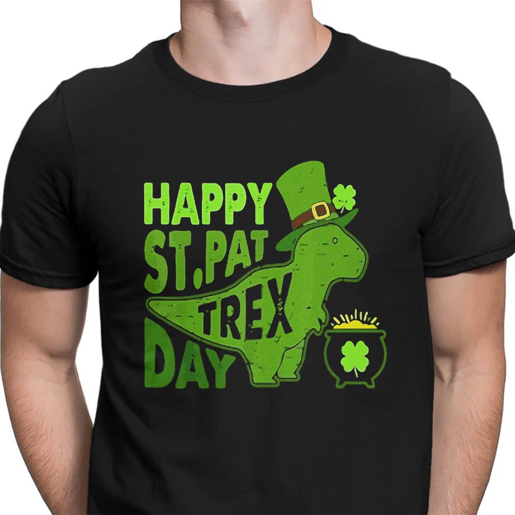 Happy St.Pat T Rex day shirt