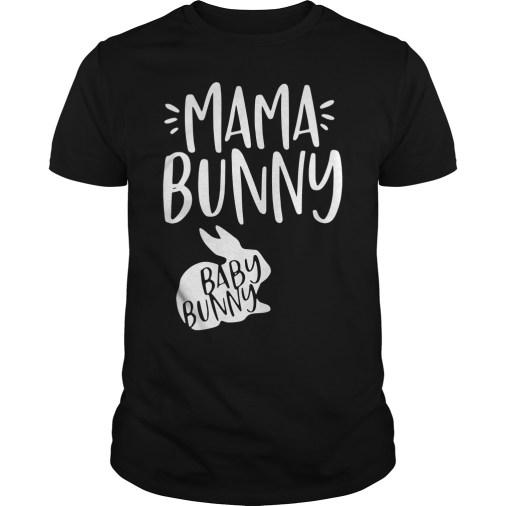 Mama Bunny Baby Bunny guys tee