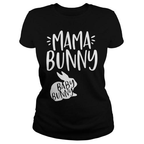 Mama Bunny Baby Bunny ladies tee