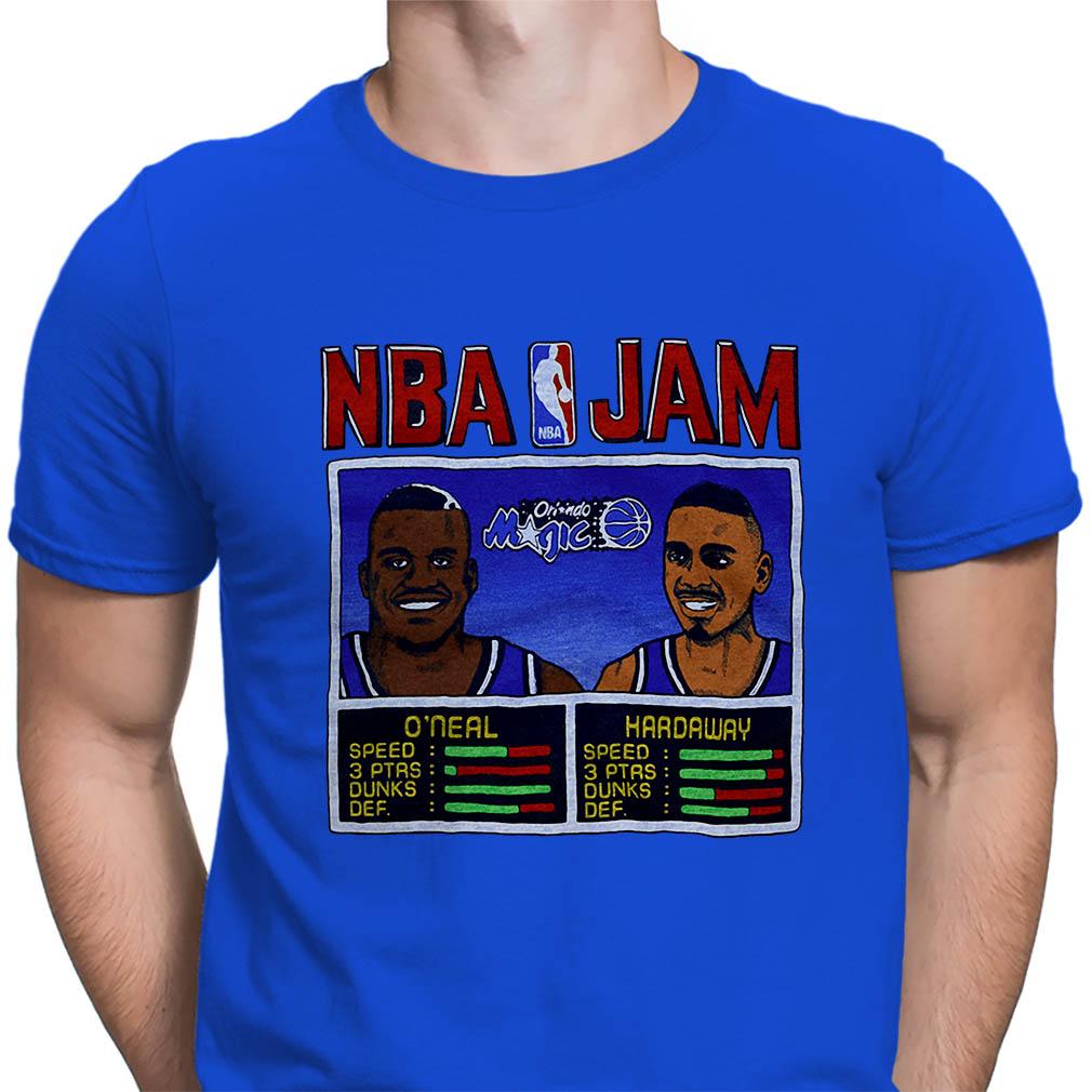NBA Jam O'neal Hardaway shirt