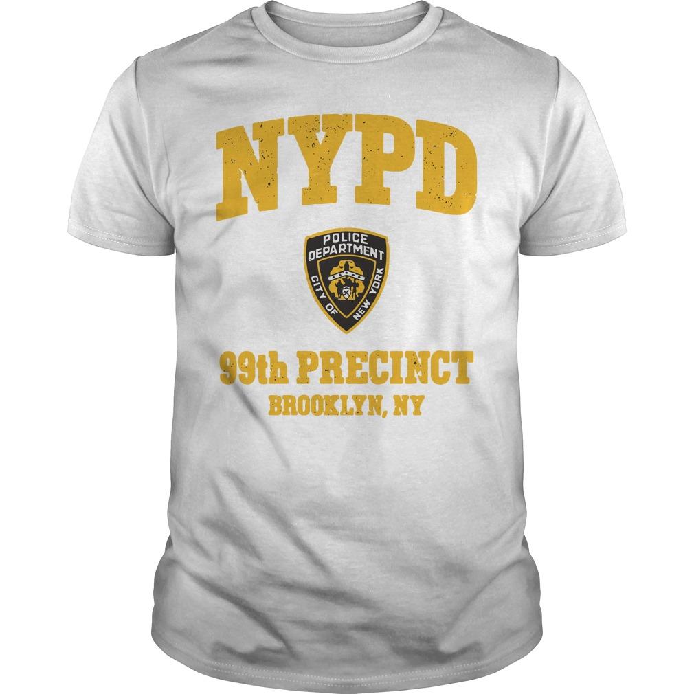 NYPD police department city of New York 99th precinct Brooklyn NY guys tee