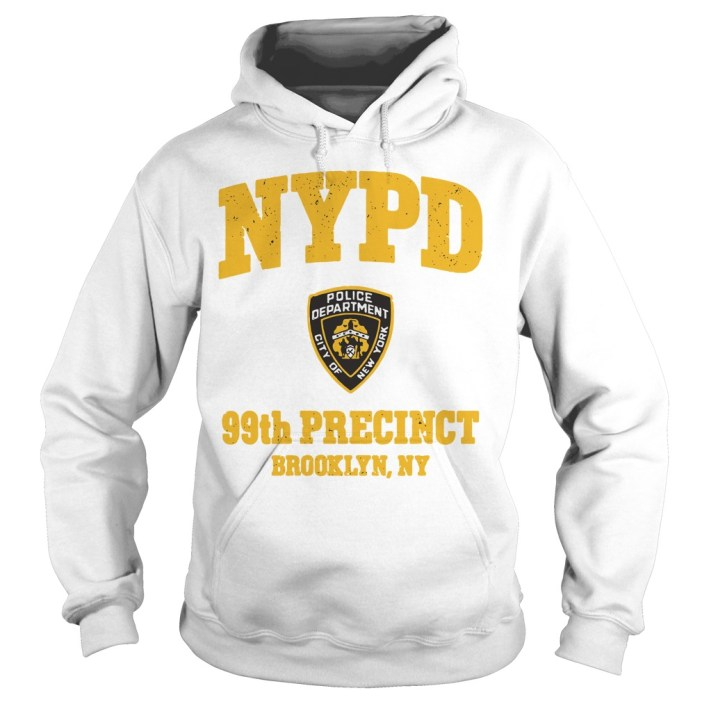 NYPD police department city of New York 99th precinct Brooklyn NY hoodie