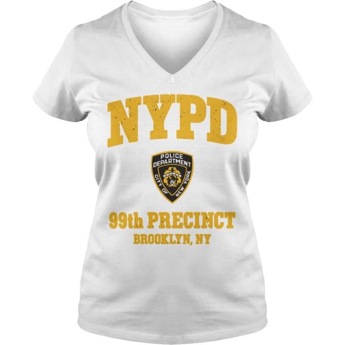 NYPD police department city of New York 99th precinct Brooklyn NY v-neck