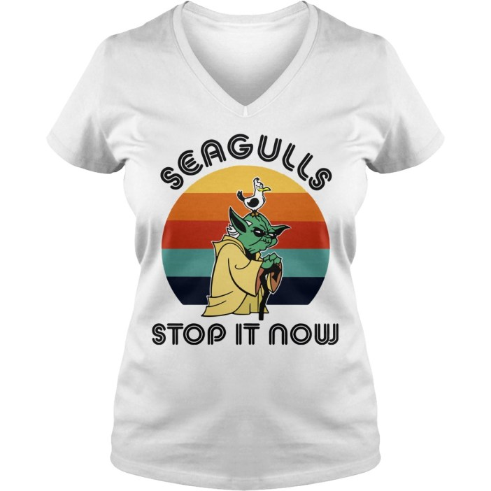 Seagulls stop it now v-neck