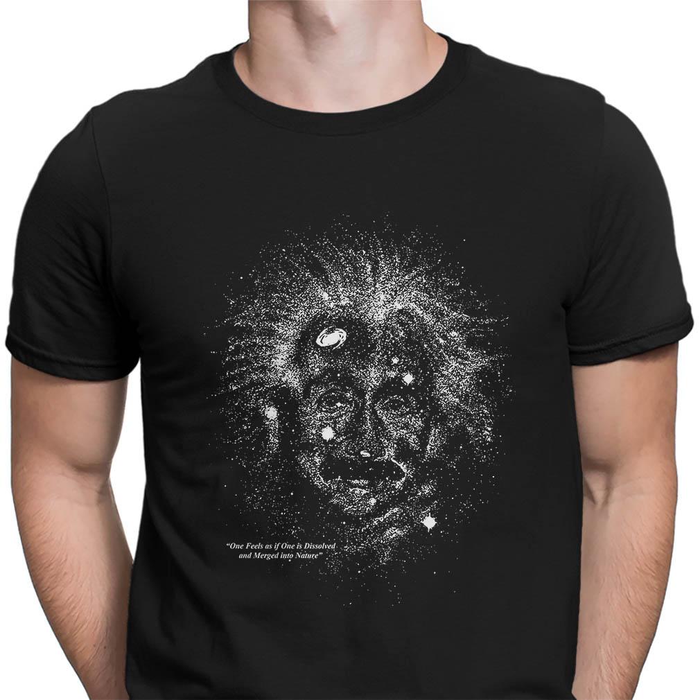 Vintage 90's Albert Einstein Glow In The Dark Galaxy 1993 shirt