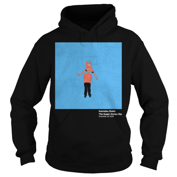 Hamidou Diallo The super honey dip hoodie