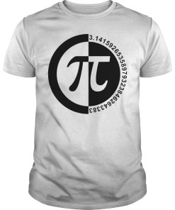 Pi Day number shirt