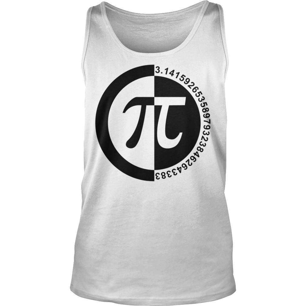 Pi Day number tank top
