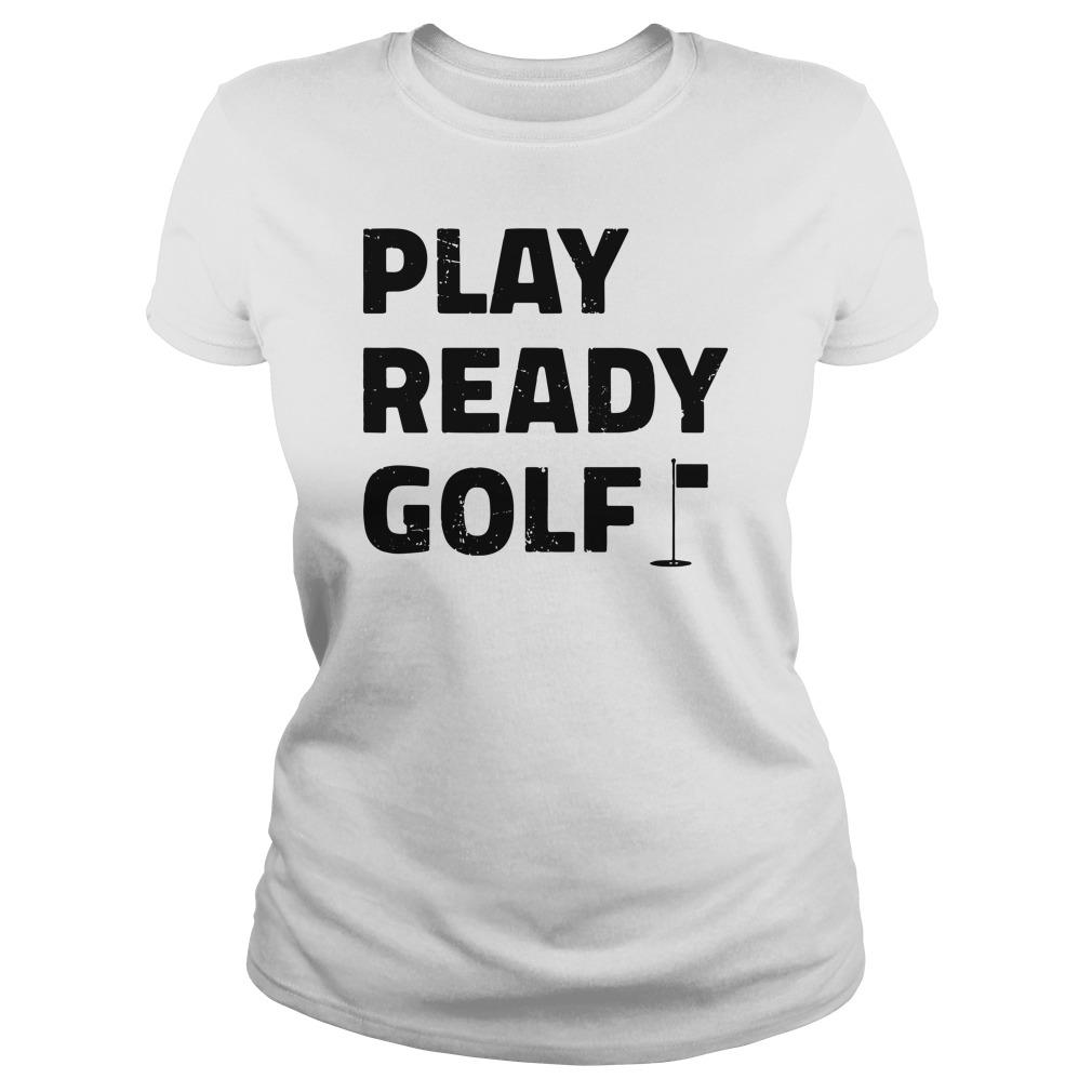 Play ready golf ladies tee