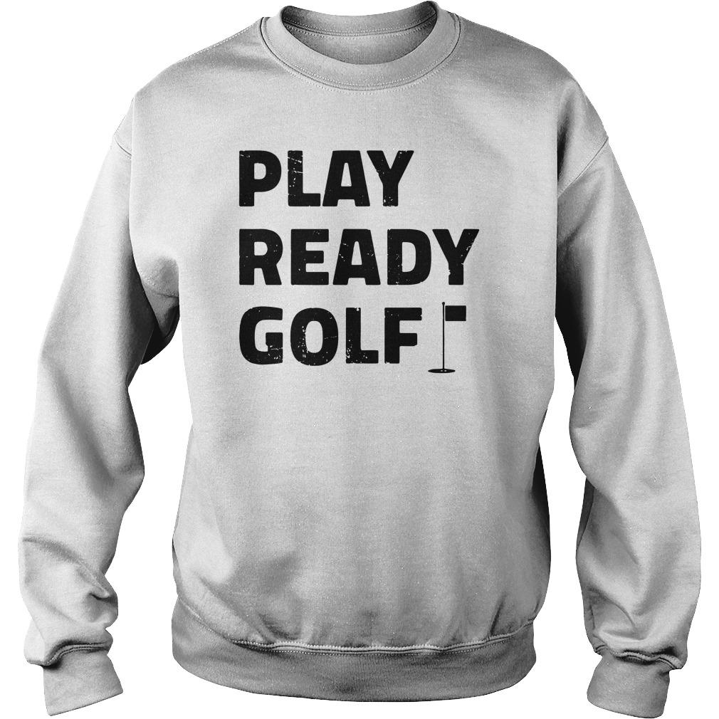 Play ready golf sweater