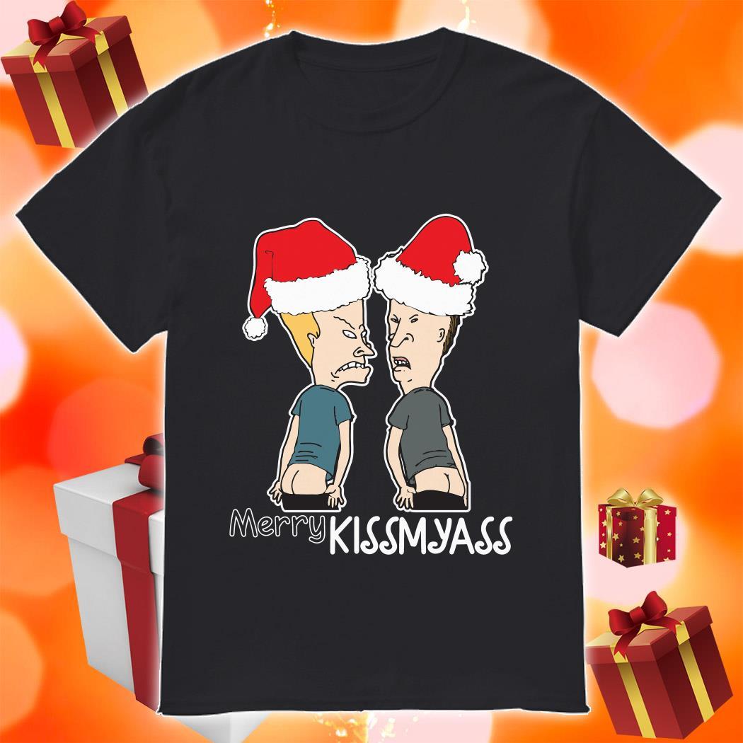 Beavis and Butt Merry Kissmyass shirt