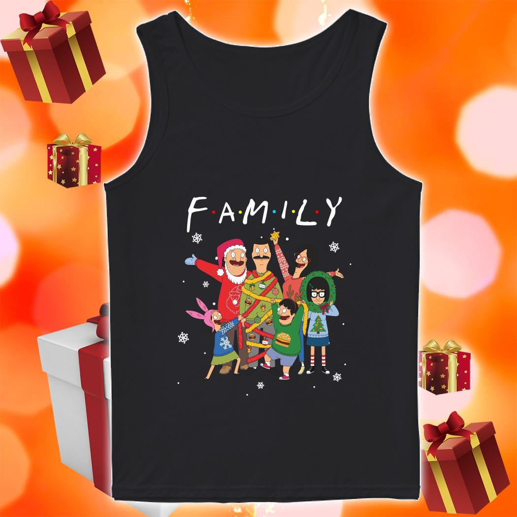 Bob's Burgers Family Merry Christmas tank top